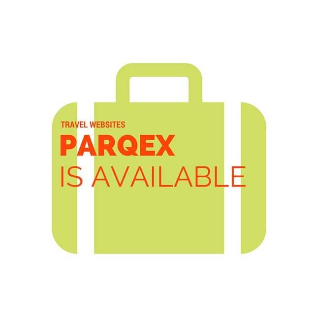 TRAVEL WEBSITES - ParqEx is now available.