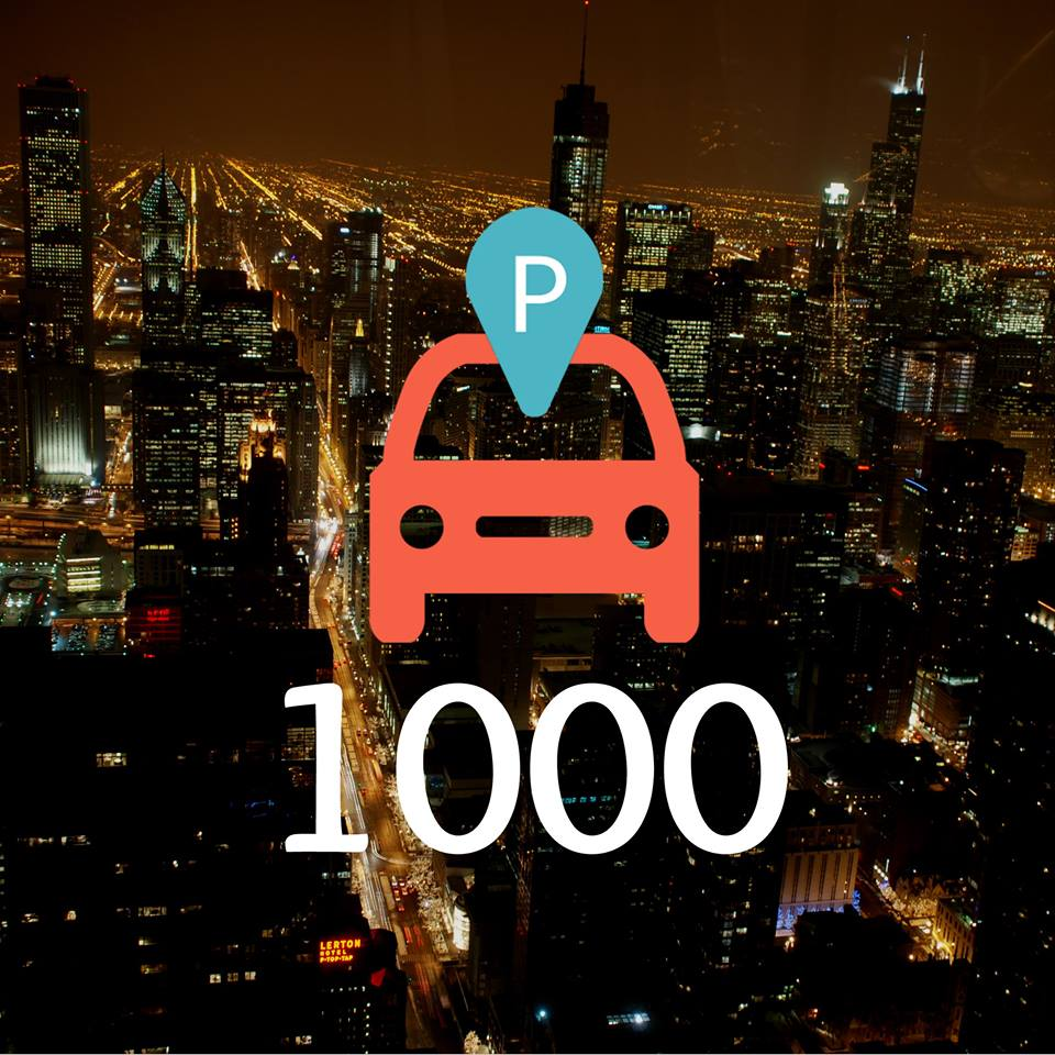 ParqEx stands 1000 plus users