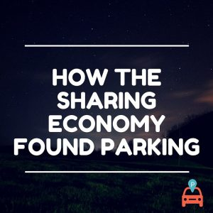 How the Sharing Economy Found Parking