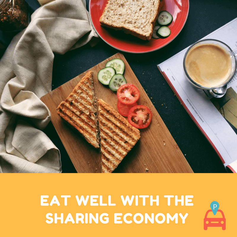 ParqEx: Eat Well with the Sharing Economy