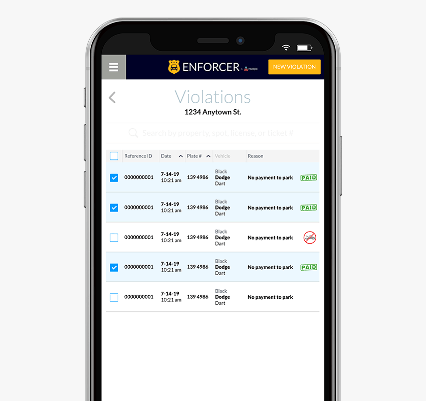 Enforcer App Features | Manage Parking Violations | Real-Time Parking Enforcement App | ParqEx