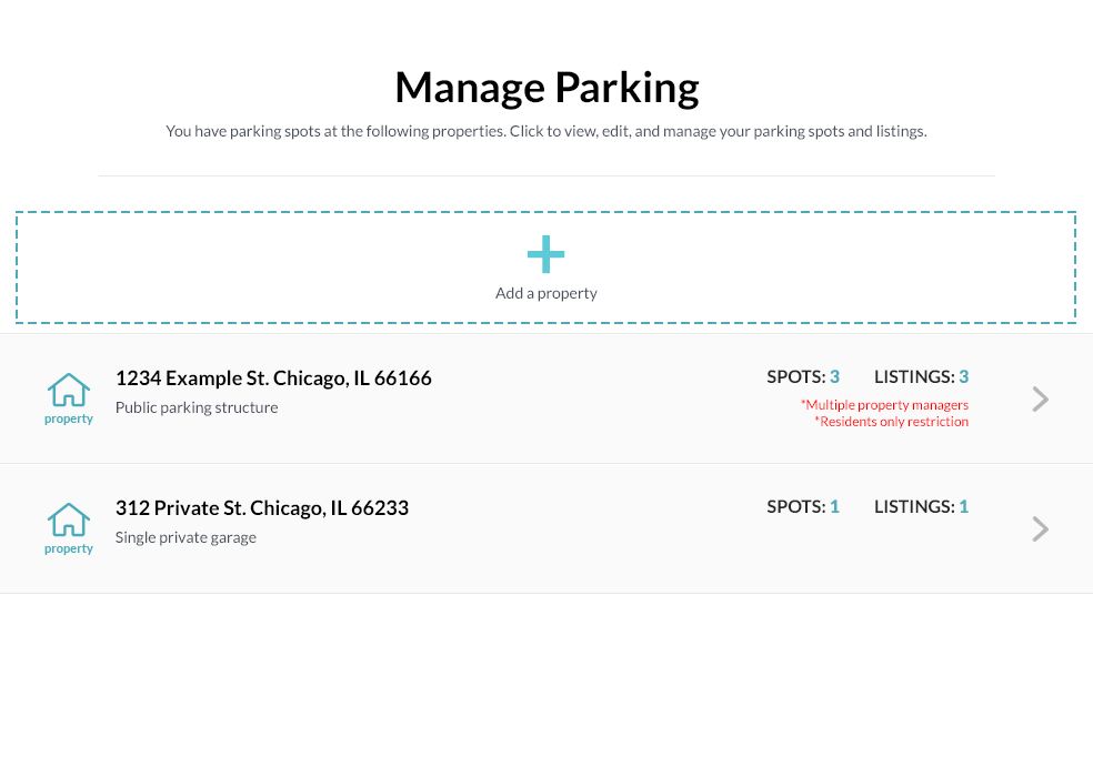 ParqEx How to List a Spot | Manage Parking