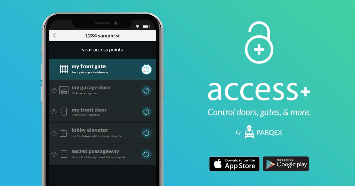 Access Plus App (Access+) Control doors, gates, garage & more