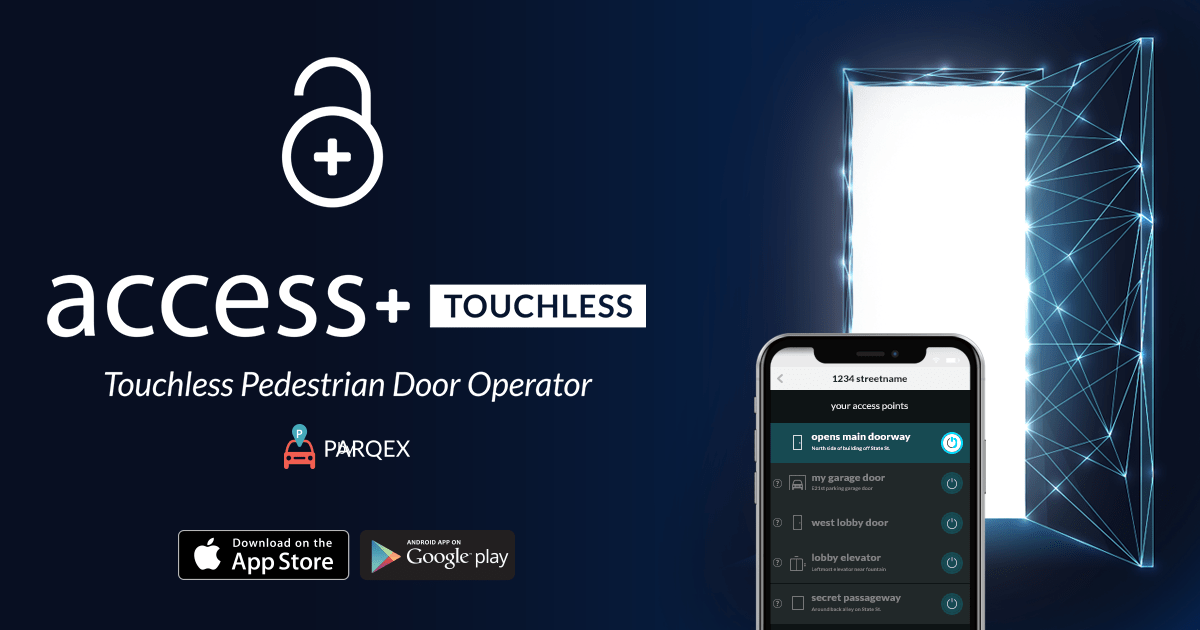 Access Plus TOUCHLESS Touchless Door Operator | Pedestrian Door Opener