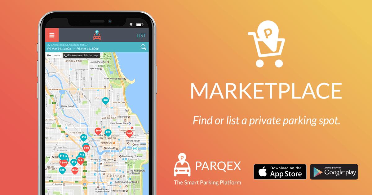Private Parking Marketplace | Find Parking | Rent Parking | ParqEx App