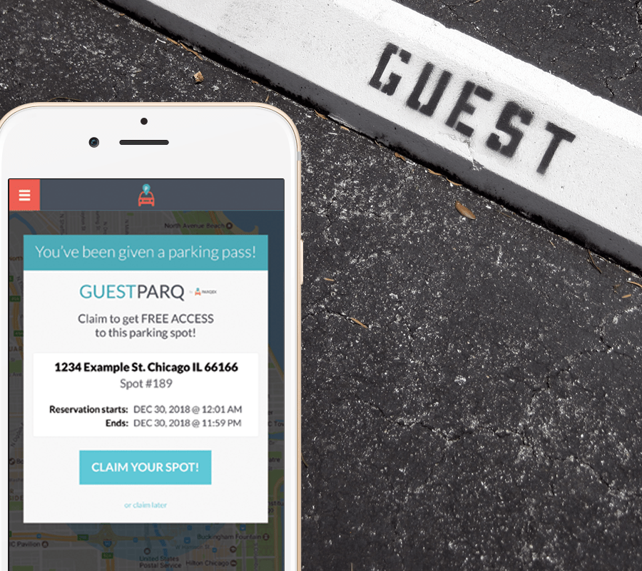 How to Find a Spot | GuestParq by ParqEx