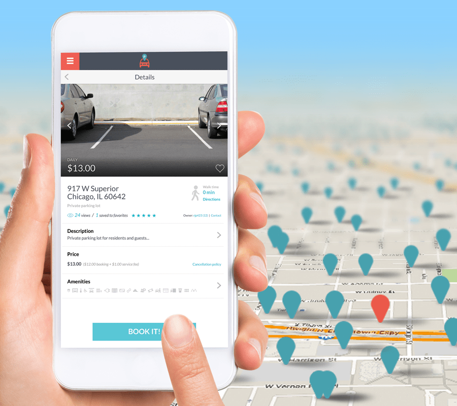 How to Find a Spot | ParqEx Private Parking Marketplace