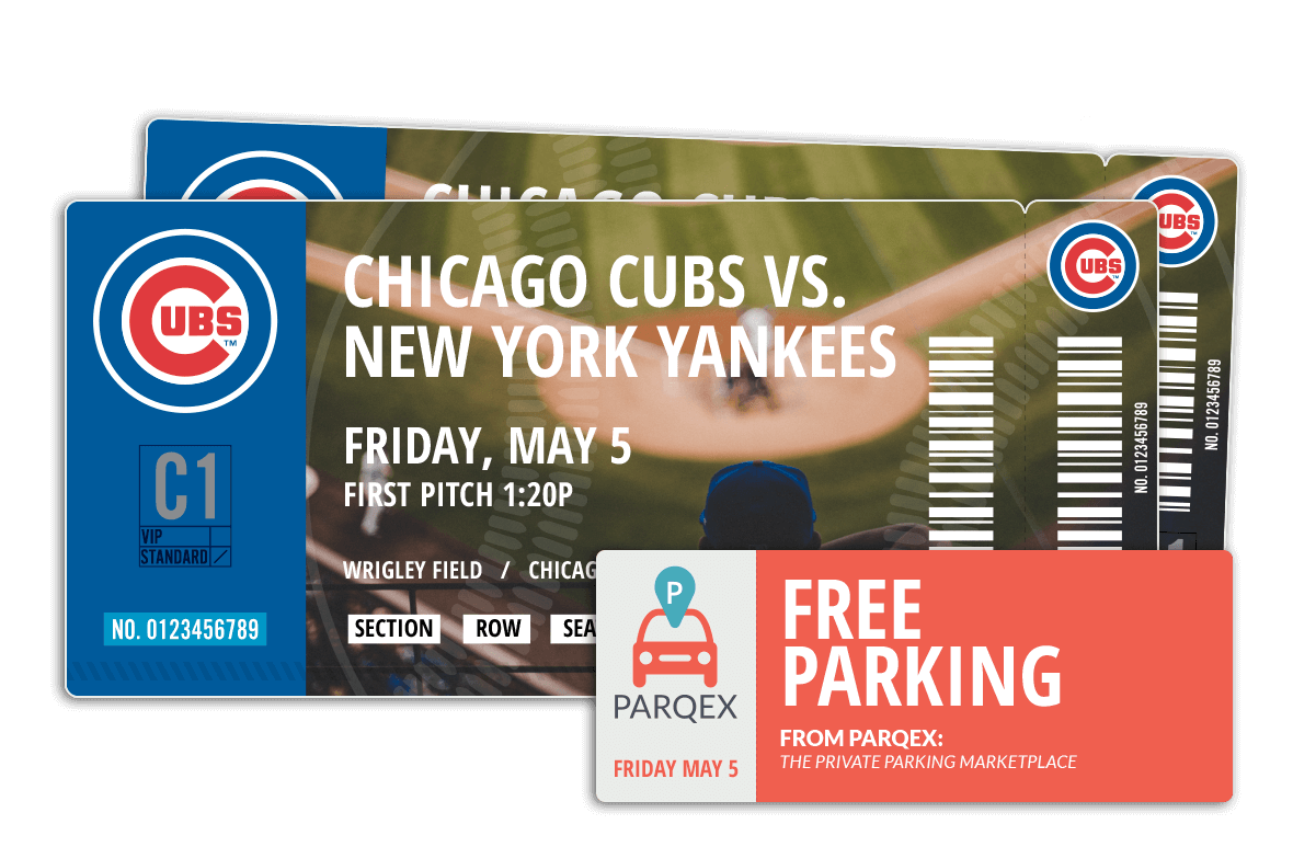 ParqEx is giving away Cubs tickets