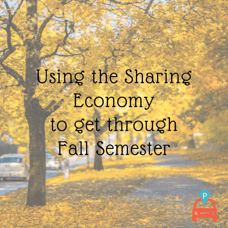 ParqEx: Using the Sharing Economy to get through the Fall Semester